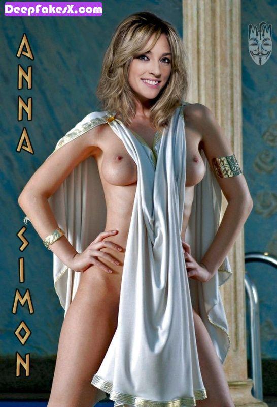fotos anna simon desnuda disfraz de griega deepfakes