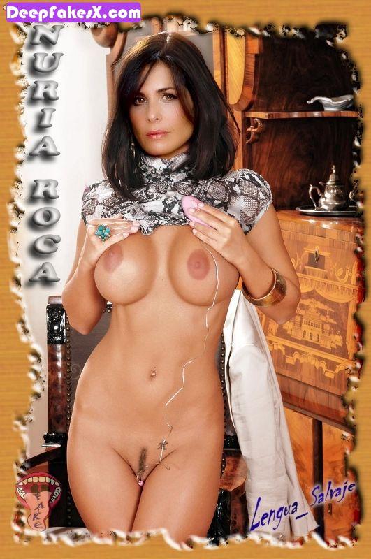 fotos nuria roca desnuda con juguete sexual deepfakes