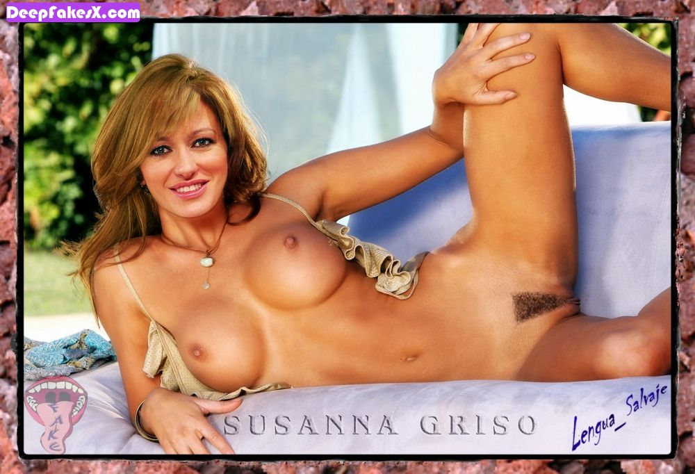 fotos susanna griso desnuda con el coño peludo deepfakes