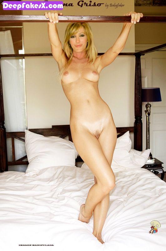 fotos susanna griso desnuda encima de la cama con el coño peludo deepfakes